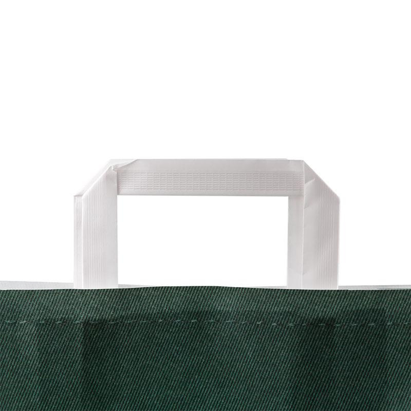 Papiertragetasche mit Flachhenkel