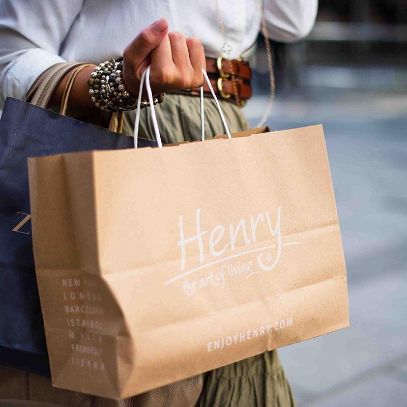 Papiertragetaschen Shoppingbag